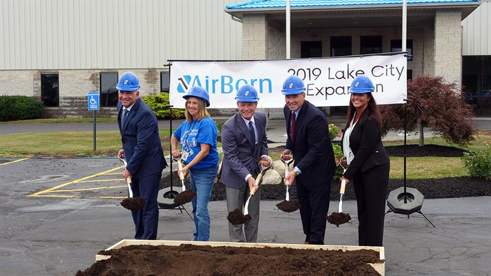 AirBorn Lake City Groundbreaking