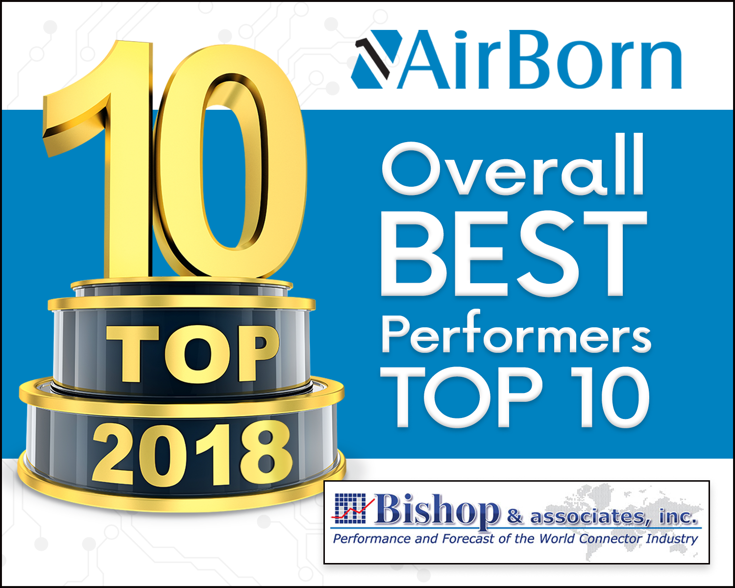 AirBorn Ranks Top 10 Bishop and Associates