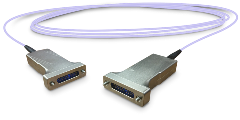 Space Rated Active Optical Cable