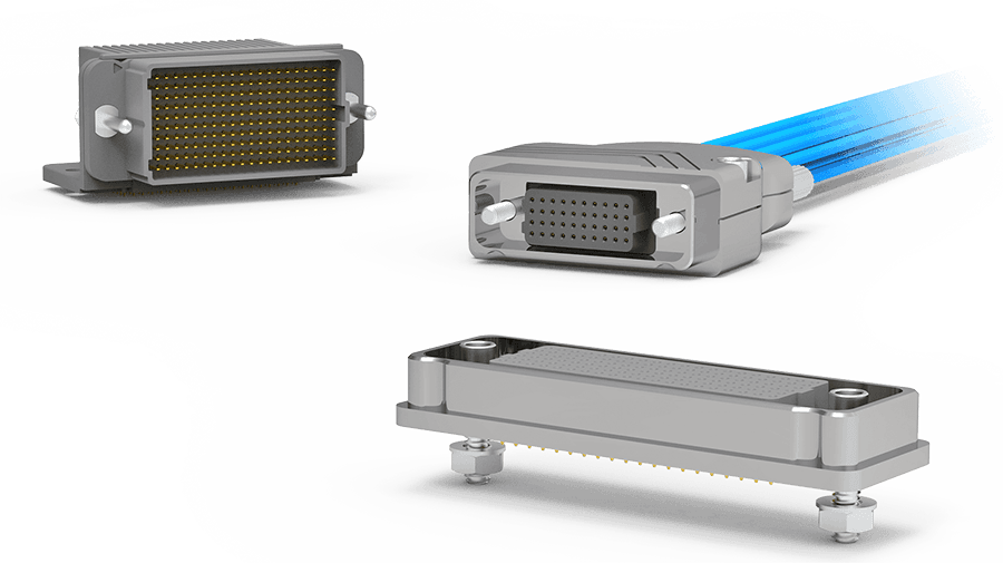 AirBorn High Speed, Board Mount, Rugged and Cable Mount Connectors